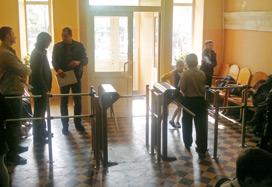 Система контроля доступа в школе №9, Владивосток
