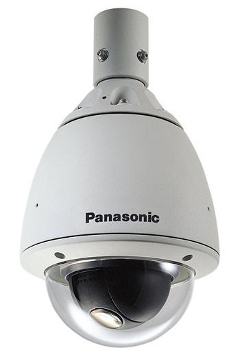 Современная высокоскоростная купольная видеокамера уличной установки