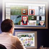 Контроль лиц видеонаблюдение