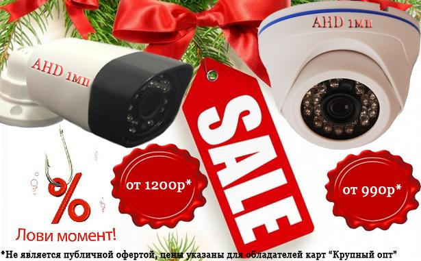Недорогие камеры EL AHD